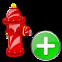 Add, Fire, Plug Icon