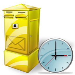 Box Clock Letter Icon Download Free Icons