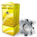 Box, Config, Letter Icon