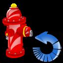 Fire, Plug, Reload Icon