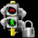 Lights, Lock, Traffic Icon