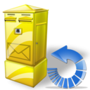 Box, Letter, Reload Icon