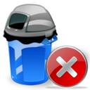 Can, Close, Garbage Icon