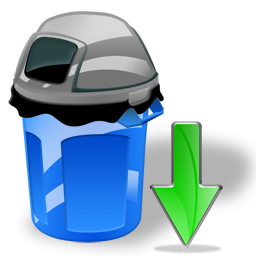 Can, Down, Garbage Icon