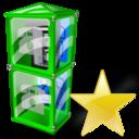 Box, Fav, Telephone Icon