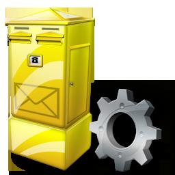Box, Config, Letter Icon