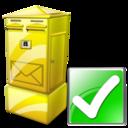 Box, Letter, Ok Icon
