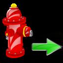 Fire, Next, Plug Icon