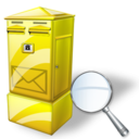 Box, Letter, Zoom Icon