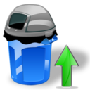 Can, Garbage, Up Icon
