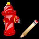 Fire, Plug, Write Icon
