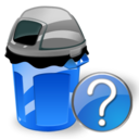 Can, Garbage, Help Icon