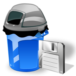 Can, Garbage, Save Icon