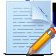 Document, Pencil Icon