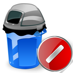Can, Cancel, Garbage Icon