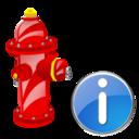 Fire, Info, Plug Icon