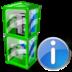 Box, Info, Telephone Icon