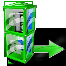 Box, Next, Telephone Icon