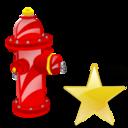 Fav, Fire, Plug Icon