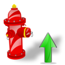 Fire, Plug, Up Icon