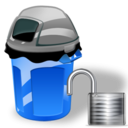 Can, Garbage, Unlock Icon