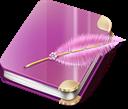 Girl, Notebook Icon