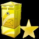 Box, Fav, Letter Icon