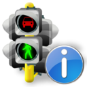 Info, Lights, Traffic Icon
