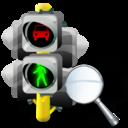 Lights, Traffic, Zoom Icon