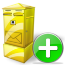 Add, Box, Letter Icon