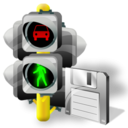 Lights, Save, Traffic Icon