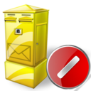 Box, Cancel, Letter Icon