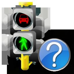Help, Lights, Traffic Icon