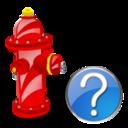 Fire, Help, Plug Icon