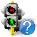 Help, Lights, Traffic Icon