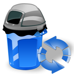 Can, Garbage, Refresh Icon