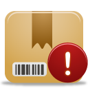 Package, Warning Icon