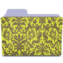 Chartreuse, Damask, Rebelheart Icon
