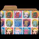 Marilyns, Rebelheart, Warhol Icon