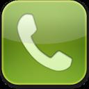 Glow, Green, Phone Icon