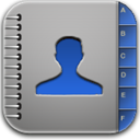 Blue, Contacts Icon
