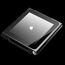 Black, Ipod, Nano Icon