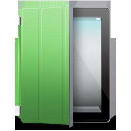 Black, Cover, Green, Ipad Icon