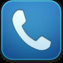 Blue, Phone Icon