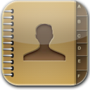 Contacts, Glow Icon