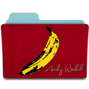Banana, Rebelheart, Warhol Icon
