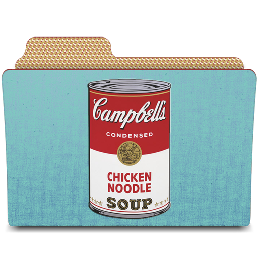 Campbell's, Can, Rebelheart, Warhol Icon
