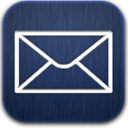 Blue, Mail Icon