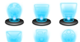 Holographic Icons