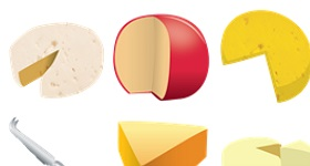 Cheese Icons